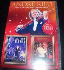 Andre Rieu Christmas / Christmas Around The World (Australia Region 4) 2 DVD NEW