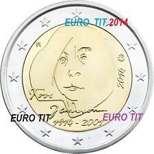 2 €   FINLANDE  2014         1  X  PIECE    TOVE  JANSSON        DISPONIBLE