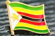 ZIMBABWE Zimbabwean Metal Flag Lapel Pin Badge *NEW*