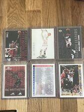 🏀☄️Upper Deck Michael Jordan (6)Card Lot - NM-Mint+/Mint rare*