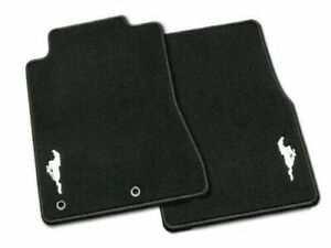 Genuine Ford Mustang Carpeted Floor Mat Set With Mustang Logo - 2015-2020