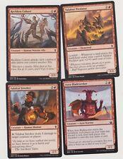 ALL RED  HUMAN SHAMAN DECK  40 CARDS N-MINT MTG MAGIC +20 LAND  J111-28