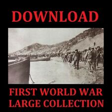 LARGE COLLECTION OF FIRST WORLD WAR BOOKS DOWNLOAD WW1