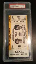 1980 Boxing Sugar Ray Leonard vs Duran Full Ticket PSA 9 Mint