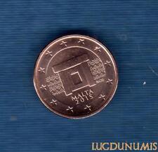 Malte 2015 1 Centime d'euro FDC BU Provenant Coffret 30000 Exemplaires Malta