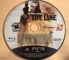 Spec Ops: The Line (Sony PlayStation 3, 2012) DISC ONLY 6439