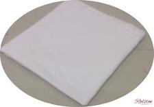 Coton Blanc Fabrication de Robes Velours - Feu Poids- 112 cm Large - Vendu au