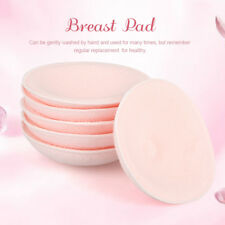 6PCS Feed Washable Reusable Breast Nursing Pads Cotton Absorbent Breastfeeding