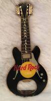Hard Rock Cafe Niagara Falls Black Gretsch Guitar Bottle Opener Magnet Man Cave