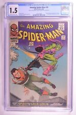 AMAZING SPIDER-MAN #39 CGC 1.5 Norman Osborn revealed as Green Goblin Incomplete