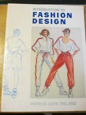 Introduction to Fashion Design by Patrick John Ireland (Paperback, 1992)