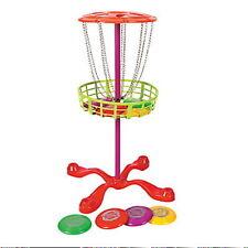 Mini Disc Golf Basket With 6 Disc Frisbee Golf