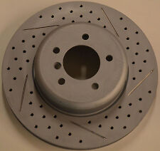 Fits 550i 535GT 650i 740i  Brake Rotors Made In Germany Front Pair 348MMx36MM