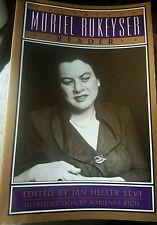 A Muriel Rukeyser Reader by Jan H. Levi (1995, Paperback)