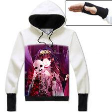 Anime Hunter x Hunte Alluka Pullover Hoodie Unisex White Coat Cosplay Sweatshirt