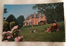 A postcard  of Reeth Lodge Niton Undercliff Isle of Wight