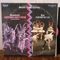 Martinon Mendelssohn / Bizet LP RCA Victrola M-