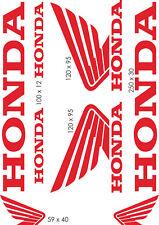Planche stickers Honda - PL003