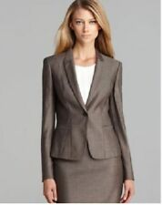 HUGO BOSS Women's One Button Wool Blend Blazer, US 10