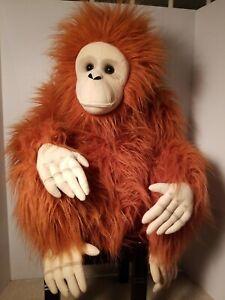 Melissa And Doug 22 Inch Adorable Orangutan Plush Stuffed Animal #2172