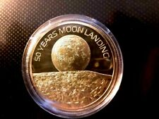 50TH ANNIVERSARY OF THE MOON LANDING ONE SMALL STEP CHALLENGE COIN