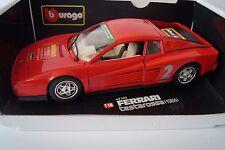 Bburago Burago Modellauto 1:18 Ferrari Testarossa 1984 Cod. 3019 *in OVP*