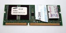 MODULO RAM SODIMM SAMSUNG PC100 128 Mb 144 pin USATA OTTIMO STATO EL1 38245
