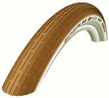 "Schwalbe Fat Frank 26"" x 2.35 MTB Bicycle Bike Tyre Semi slick Street Brown"