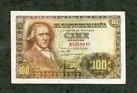 BILLETE 100 PESETAS MADRID 2 MAYO 1948 SERIE C7712039 EBC +  SC -