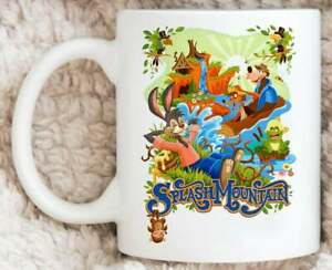 Splash Mountain Mug, Disney Attraction Coffee Mug