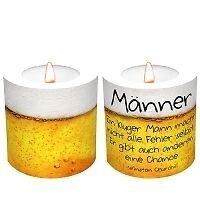 Eine Kerze für Dich - Männer + PartyLite Teelicht GRATIS