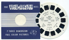 Island of CAPRI Italy 1955 Belgium-made ViewMaster Single Reel 1635