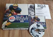 NCAA Football 99 PC EA Sports Sammlerstück BIG BOX   Selten   Vintage