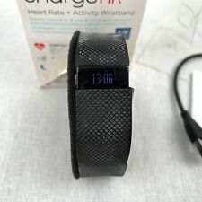 Fitbit Charge HR Fitness Activity Tracker Smart Watch Black Heart Rate Small