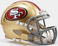SAN FRANCISCO 49ers NFL Riddell Speed Mini Football Helmet