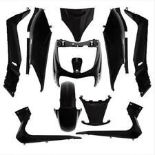 Kit de carenado negro brillante scooter Yamaha 125 Xmax 2006 à 2009 10 unidades
