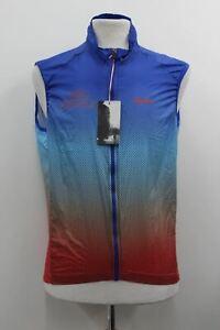 RAPHA Men's Blue Multi Lightweight L'Etape Du Tour Limited Edition Gilet XL BNWT