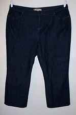 MOTTO (QVC) Women's Mid-Calf Blue Jeans, Pants. Size 18W. NWOT