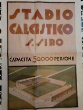 Poster locandina San Siro Propaganda Pubblicità Guerra Riproduzione 35x50 🤩🤩