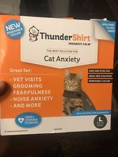 Thundershirt T02-Hgl for Cat Anxiety - Gray, Large - Used Once