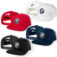 BMW M Power 5 Panneaux Casquette Brodé Auto Moto Snapback Chapeau Baseball Cap