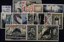 Monaco - 1958 - Annata completa di P.O. + P.A. - nuovi - MNH