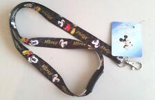 Mickey Mouse Lanyard Classic Disney Breakaway ID Holder NWT Black AUTHENTIC