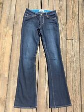 Paige Skyline Boot Jeans Michelle Wash Stretch Boot Cut Flare Size 24 x 32