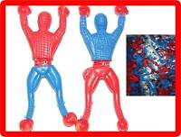 100 PCS Novelty Sticky Wall Climbing Flip Spiderman Climber Kids Toys Wholesale