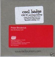 (297X) Peter Broderick, Not at Home - DJ CD