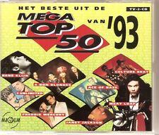 TOP 50 1993 Double CD PRODIGY GOLDEN EARRING RENE KLIJN