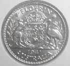 1941 Australian Silver 2/- Two Shilling KGVI ( UNCIRCULATED) (very Nice)