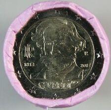 Euro-Münzrollen aus Italien