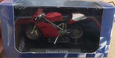 """DIE CAST SUPERBIKES  """" DUCATI 998R """" ATLAS  SCALA 1/24"""